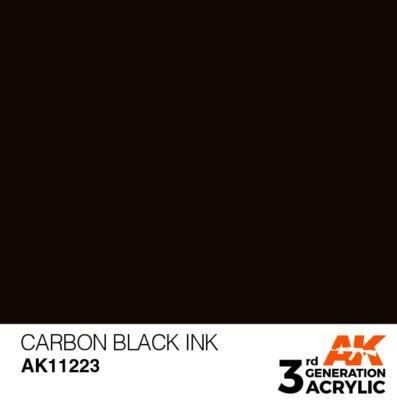 Carbon Black INK 17ml