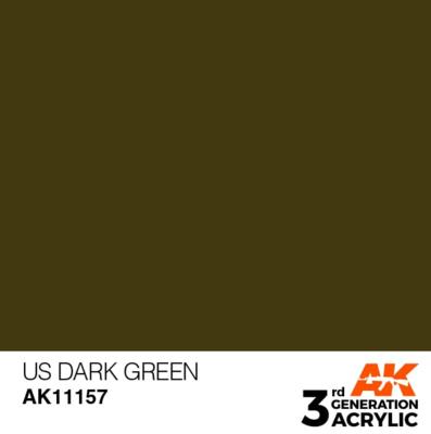 US Dark Green 17ml