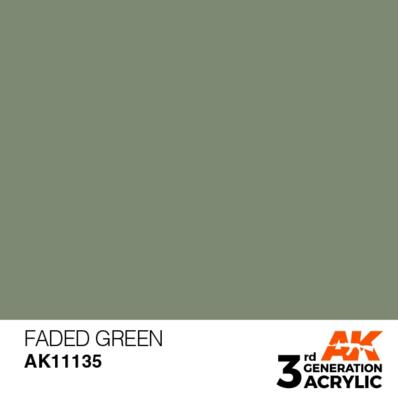 Faded Green 17ml