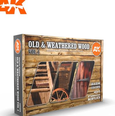 OLD & WEATHERED WOOD VOL1