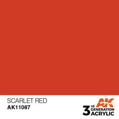 Scarlet Red 17ml