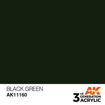Black Green 17ml