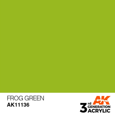 Frog Green 17ml