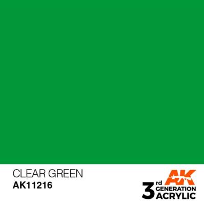 Clear Green 17ml