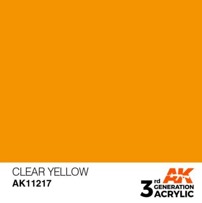Clear Yellow 17ml
