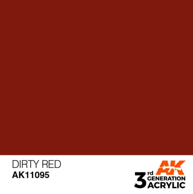 Dirty Red 17ml