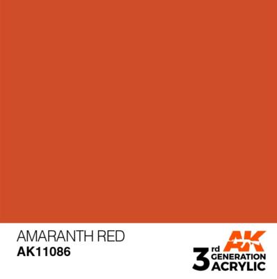 Amaranth Red 17ml