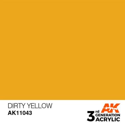 Dirty Yellow 17ml