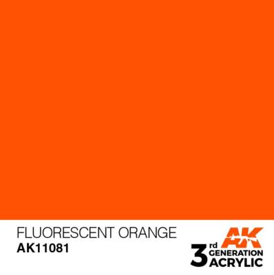 Fluorescent Orange 17ml