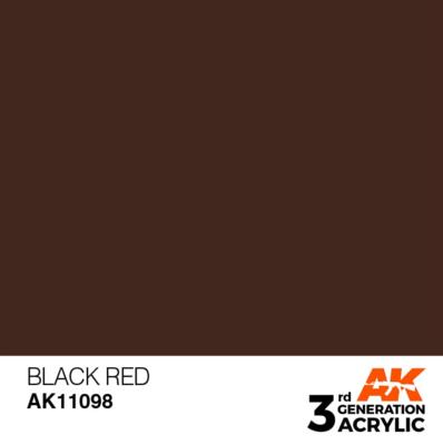 Black Red 17ml