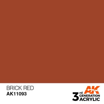 Brick Red 17ml