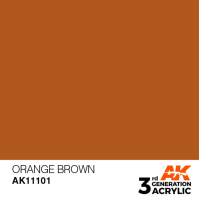 Orange Brown 17ml