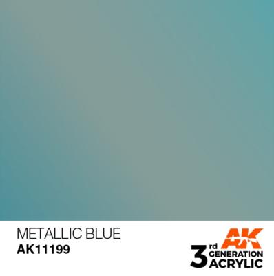 Metallic Blue 17ml