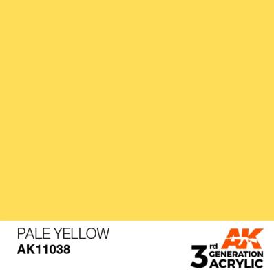 Pale Yellow 17ml