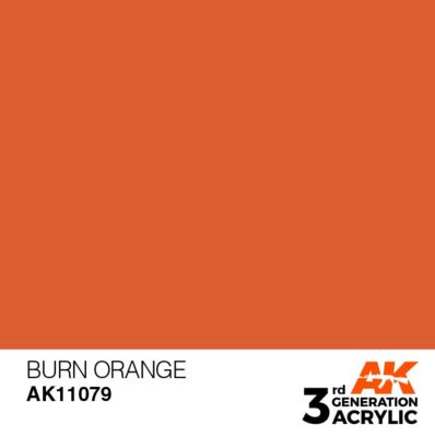 Burn Orange 17ml