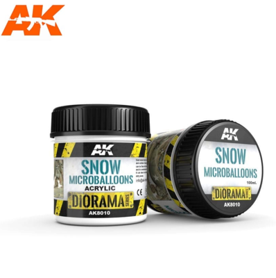 SNOW MICROBALLOONS - 100ml