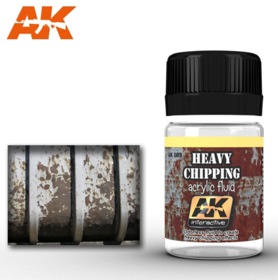 HEAVY CHIPPING EFFECTS ACRYLIC FLUID