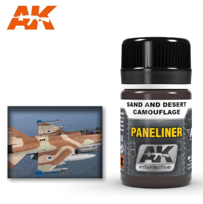 Paneliner for sand and desert camouflage 35ml