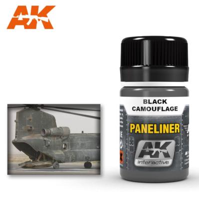 Paneliner for black camouflage 35ml