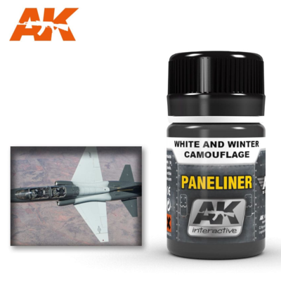 Paneliner for white and winter camouflage 35ml