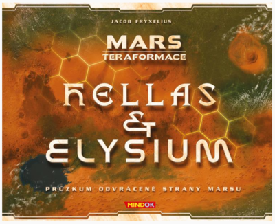 MARS TERAFORMACE HELAS ELYSIUM