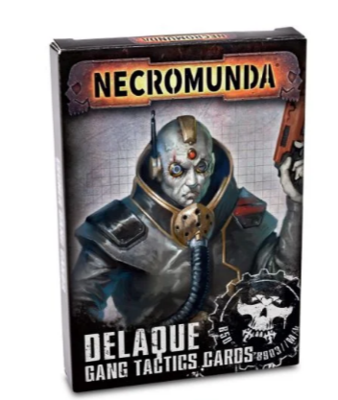 NECROMUNDA: DELAQUE GANG TACTICS CARDS