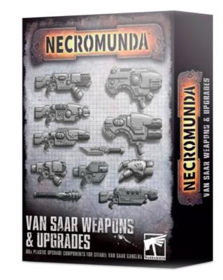 NECROMUNDA VAN SAAR WEAPONS & UPGRADES