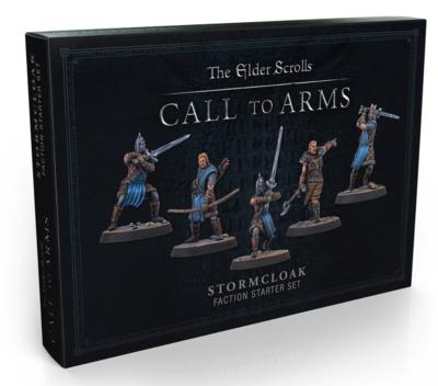 Elder Scrolls: Call to Arms - Stormcloak set (Plastic)