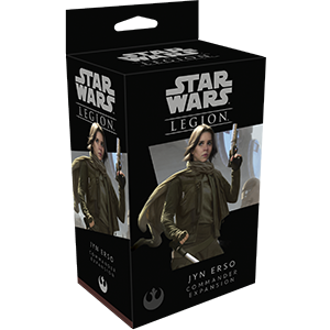 Star Wars Legion: Jyn Erso Commander