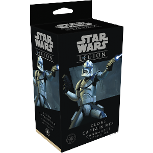 Star Wars Legion: Clone Captain Rex Commander Exp.