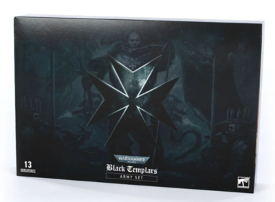 BLACK TEMPLARS ARMY SET (ENG)) - 1