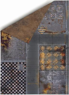 "44""x30"" Double sided G-Mat: Quarantine and Fallout Zone - 1"