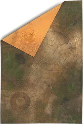 6'x4' Double Sided G-Mat: Lost World and Sands of Time - 1