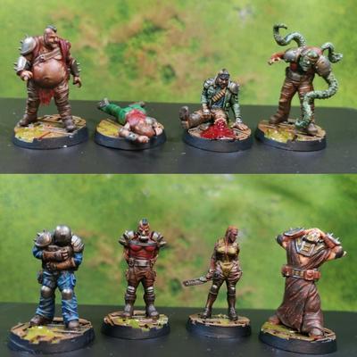 Hive Scum 8 miniatures set - 10