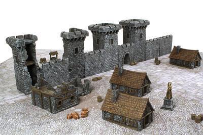 Medieval Castle Set - 10