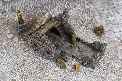 Medieval Houses Set - 10