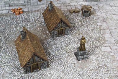 Medieval Houses Set - 11