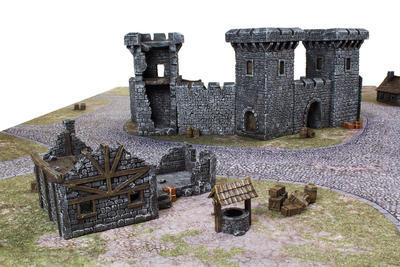 Medieval Houses Set - 14
