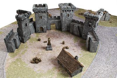 Medieval Houses Set - 15