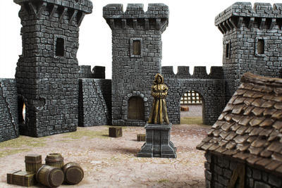Medieval Houses Set - 16
