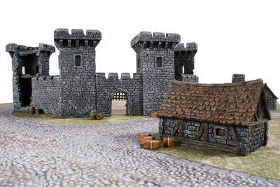 Medieval Castle Set - 16