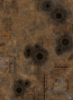 """44""""x60"""" Double sided G-Mat: Quarantine and Fallout Zone - 2/3"""
