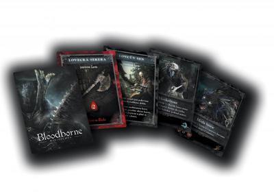 Bloodborne - karetní hra - 2