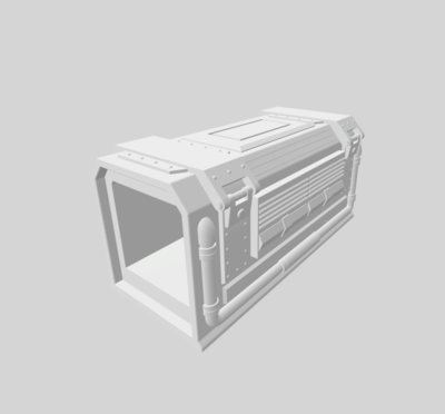 Container 3D file - 2