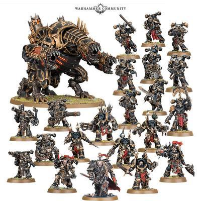 CHAOS SPACE MARINES: DECIMATION WARBAND. - 2