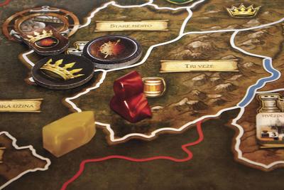 Hra o Trůny - desková hra - 2
