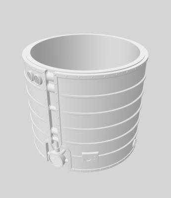 Large tank 3D file - 2