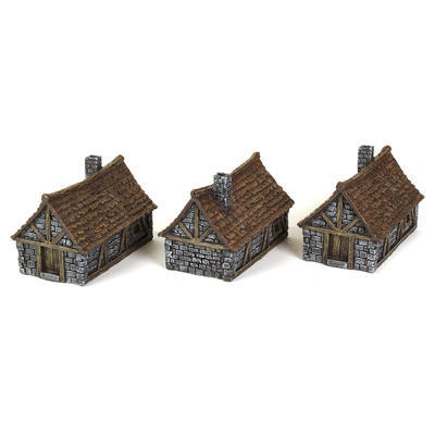 Medieval Houses Set - 2
