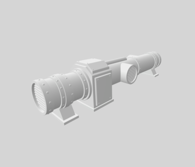 Conduits set 3D file - 2