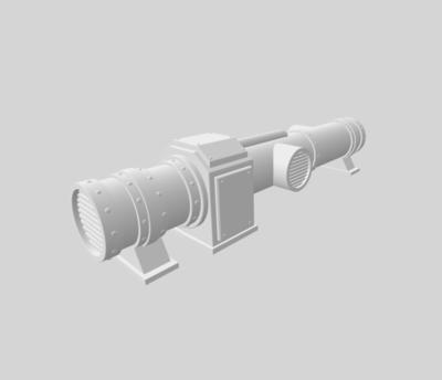 Conduits set 3D file - 2